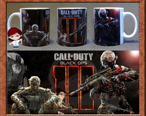 Caneca Call of Duty Black Ops III 01