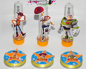 Kit festa toy story latinha + tubete