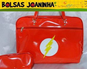 BOLSA THE FLASH PROFESSORA