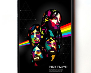 Quadro Pink Floyd (Dark Side of the Moon)