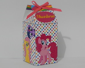 Caixa Milk My little Pony