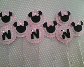 Cód 218 Toppers Minnie Rosa