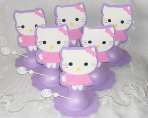 Enfeite de mesa Hello Kitty