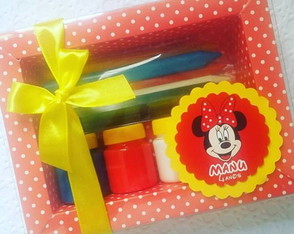 Kit colorir tema minnie