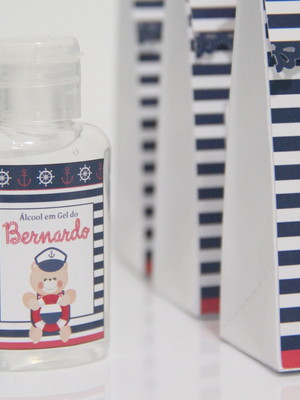 Kit Higiene: Álcool Gel + Embalagem