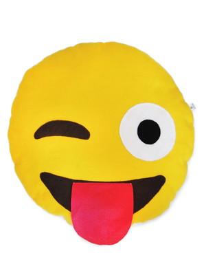 Almofada porta pijama emoji divertido *