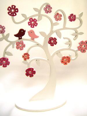 Árvore em MDF Personalizada 28 cm de altura