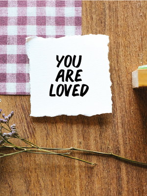 Carimbo P - You are loved