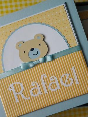 Diário + Caixa ursinho Fofo azul e amar