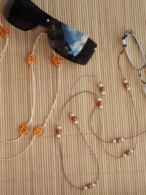 Par de cordões para óculos