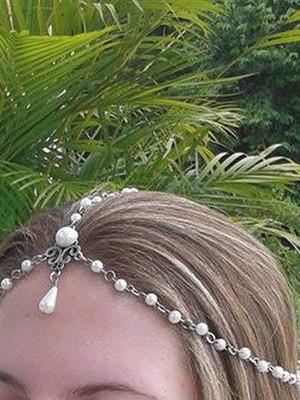 Acessório cabeça Perle Delicate