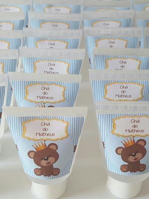 Bisnaga álcool Gel Chá de Bebê