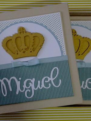 livro diário bebê personalizado e caixa menino príncipe