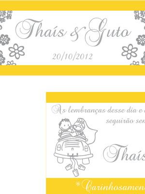 Kit papelaria Casamento - digital