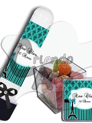 Kit - Tubetes e caixinhas Personalizados