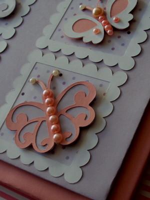 diário bebê personalizado menina borboletinhas rosa e lilás