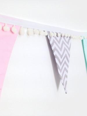 Bandeirinhas Decorativas em Tecido