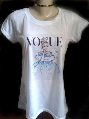T-shirt Cinderela Vogue