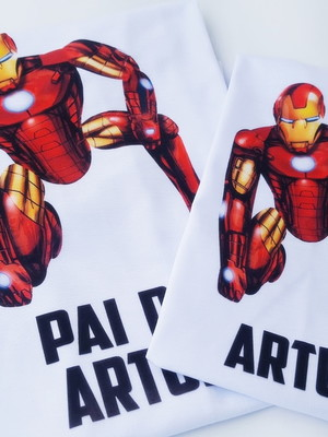 Tal Pai Tal Filho - Dupla de Camisetas#1