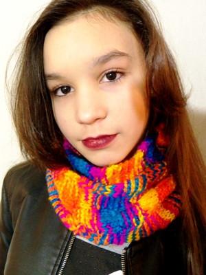 Gola Folia 2 em tricot