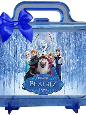 Maletinha Personalizada Frozen, e temas