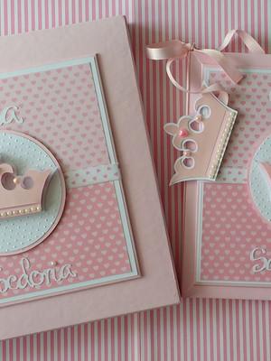 livro do Bebê com caixa Princesinha cute