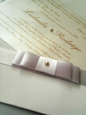 Convite de Casamento em Microcotelê