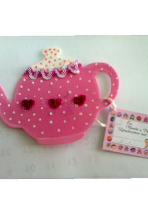 Lembrança para Chá de Bebê Menina - Bule