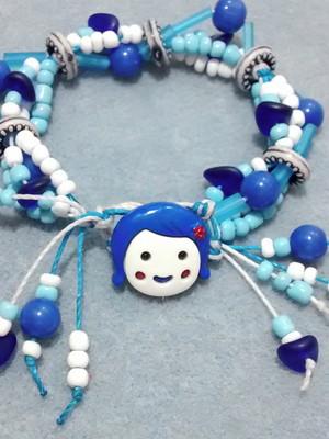 Pulseira menina azul