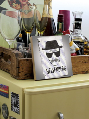 Quadro Breaking Bad - Heisenberg