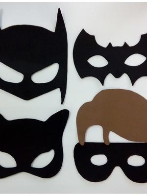 Mascaras Turma do Batman de EVA