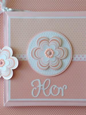 Livro do bebê Personalizado Florzinha De