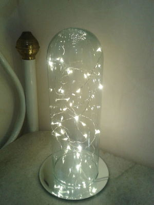 Luminária Redoma de Vidro
