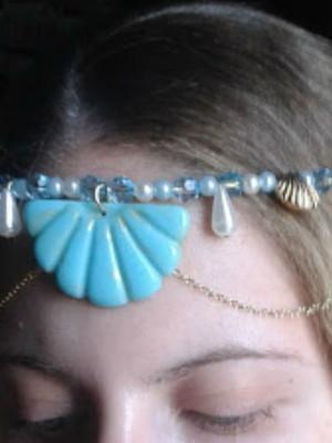 Headpiece colar Sereia