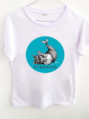 T-shirt Puurrrmaid