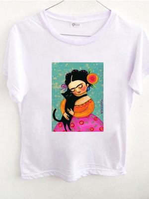 T-shirt Frida Gato