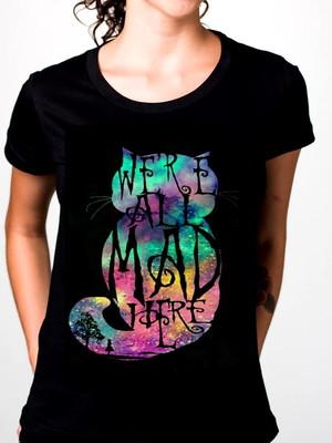 T-shirt Mad Cat Alice in wonderland