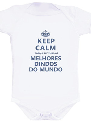 Body Keep Calm Melhores Padrinhos_MENINO