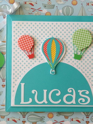 Livro do bebê Balões Coloridos