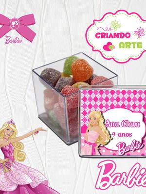 Caixinha de Acrílico Barbie