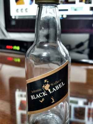 Mini garrafa de Whisky Black Label