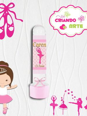 Tubete Personalizado Bailarina