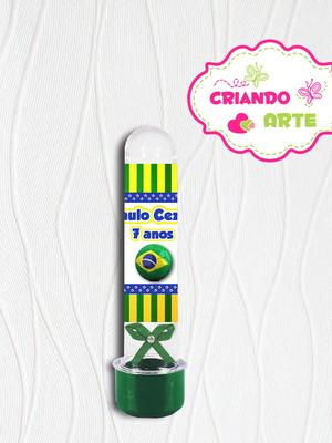 Tubete Personalizado Brasil