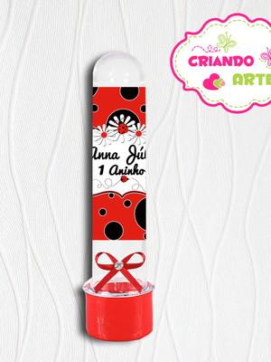 Tubete Personalizado Joaninha
