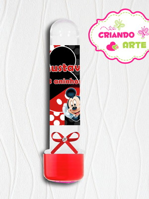 Tubete Personalizado Mickey