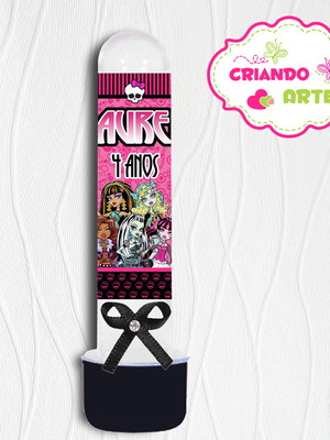 Tubete Personalizado Monster High