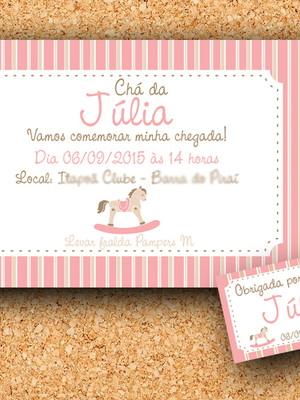 Tag + Convite Cavalinho (digital)