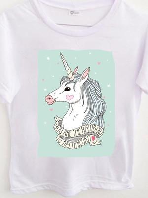 T-shirt Rainbow unicorn