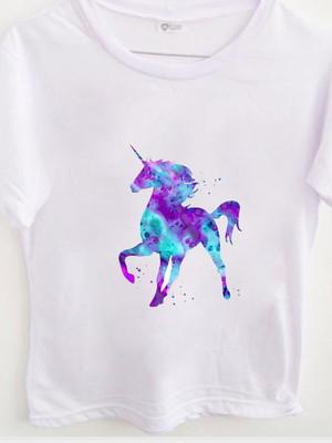T-shirt Watercolor Unicorn