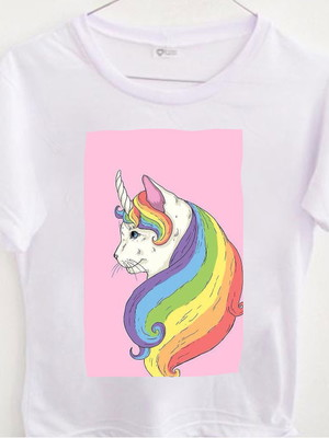 T-shirt Cat Unicorn